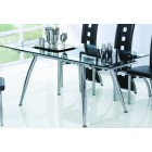 Los Angeles Extending Dining Table &amp; 6 Chairs